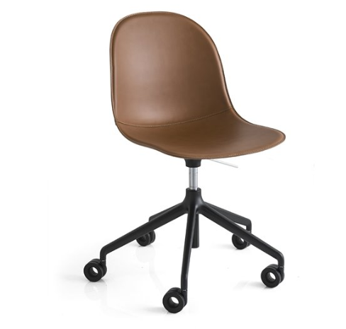 Connubia leather chair Academy