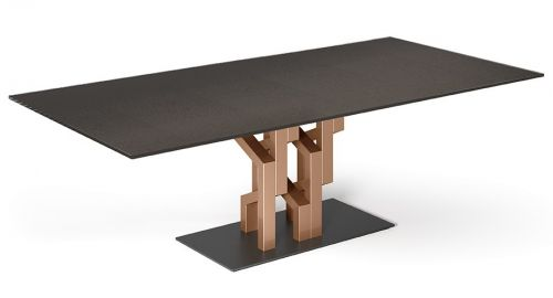 Tavoli In Cristallo Fiam Prezzi.Fiam Table Kighi Lombardo Design