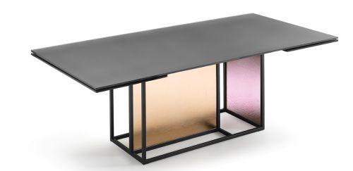 Emu Piano Tavolo Allungabile.Fiam Extendible Table Theo Lombardo Design